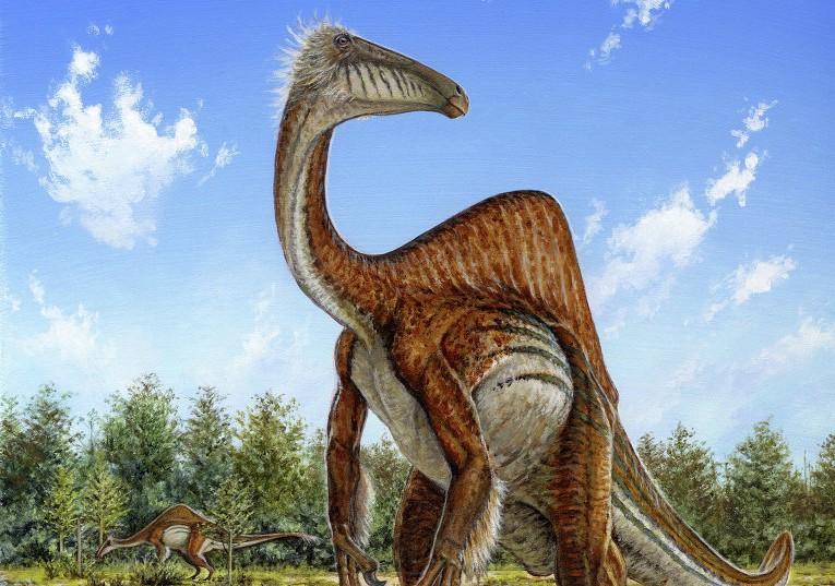 Ученые восстановили облик самого нелепого динозавра