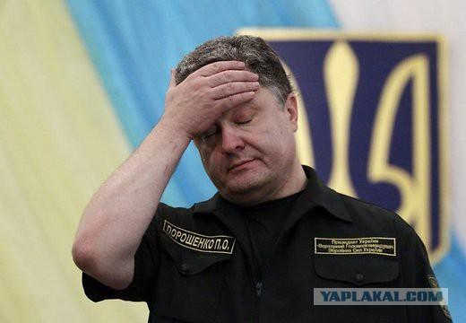 Деятельность Порошенко не одобряет почти половина украинцев