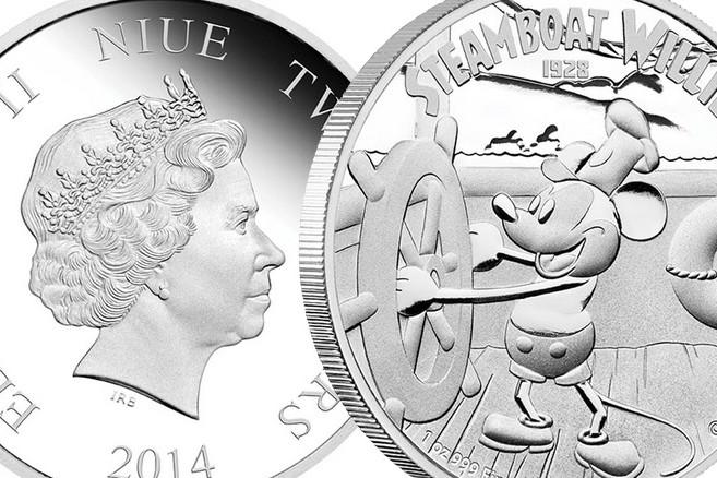 Диснеевские герои появятся на реверсе монет