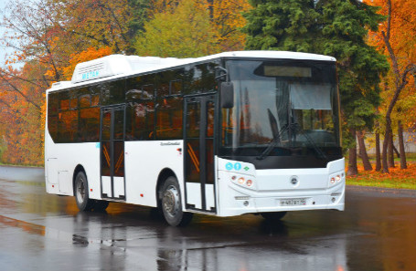 «ГАЗ» презентовал наклоняющийся автобус