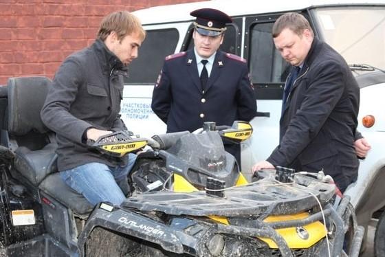 Олимпийскому чемпиону Шипулину вернули похищенный квадроцикл