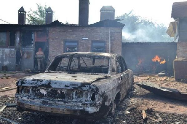 Из-за артобстрела Донецк остался без света, воды и транспорта