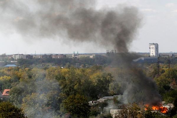 Танки кардинально изменили ситуацию в аэропорту Донецка