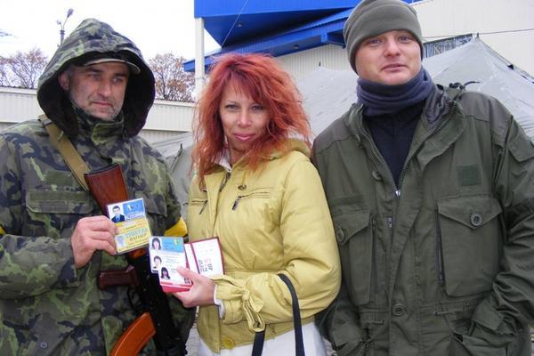 Киевский батальон в Донбассе снимается за мясные консервы