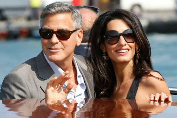 Джордж Клуни потратил на благотворительность деньги от продажи свадебных фото