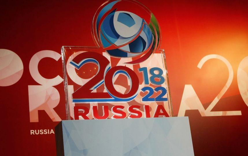 Эмблему чемпионата мира - 2018 представят на фасаде Большого театра