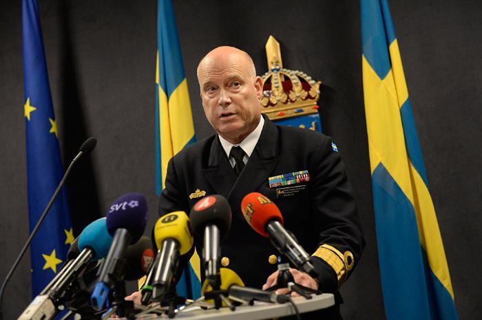 Шведские ВМС обнародовали фото объекта, который они ищут
