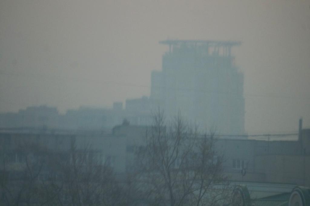 Хабаровск накрыл смог из ЕАО