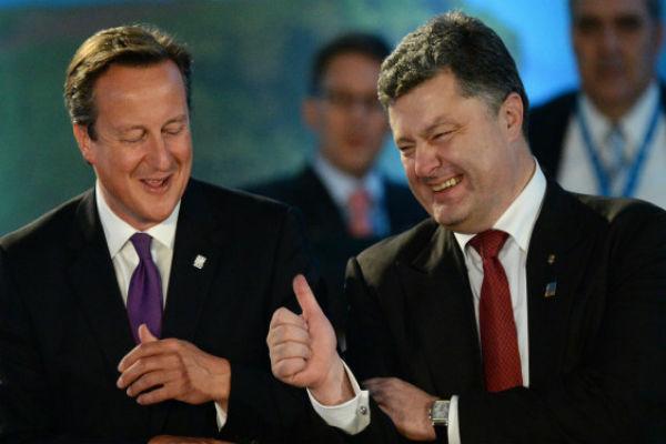 Кэмерон отказался встречаться с Порошенко