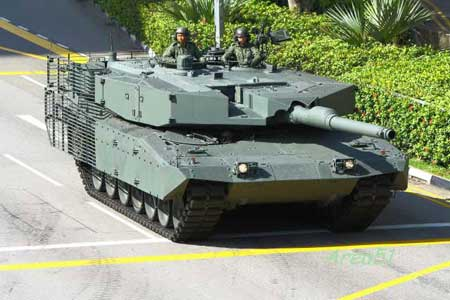 Ополченцы подбили танк