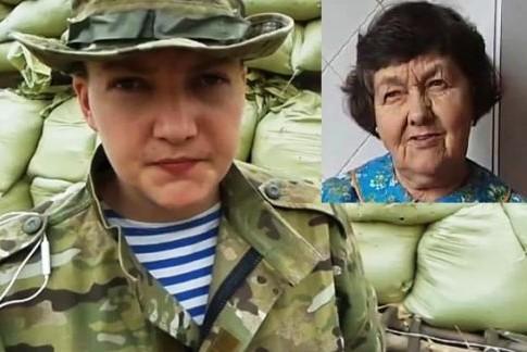 Летчице Савченко разрешили встретиться с матерью