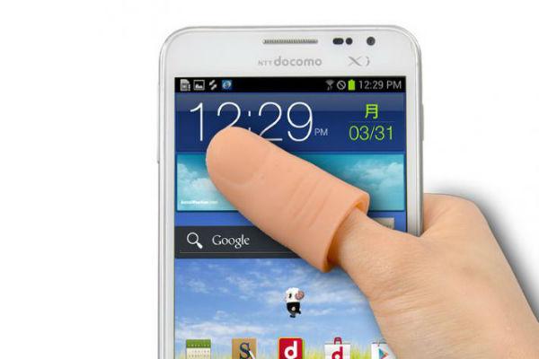 Накладной палец для iPhone 6 выпустили в Японии