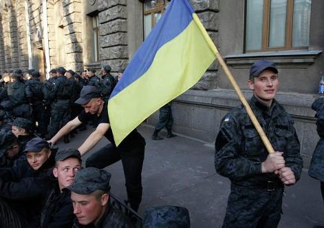 Нацгвардейцы Харькова поддержали митингующих в Киеве