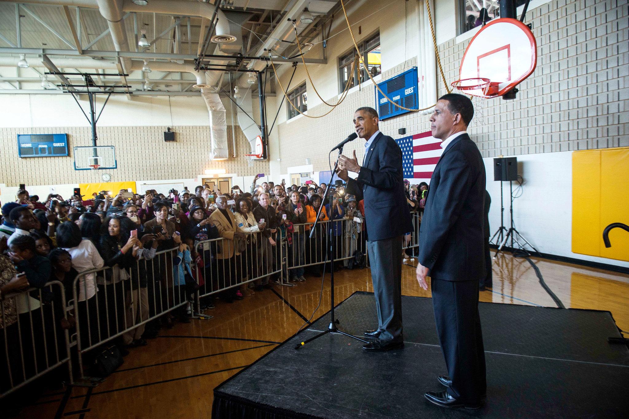 В Мэриленде Обаму слушать не захотели