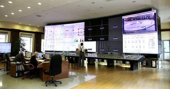 На Саяно-Шушенской ГЭС появилась видеостена