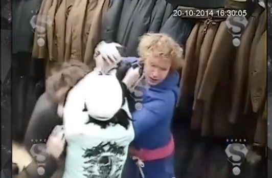 Избитая продавщица написала заявление на Гогена Солнцева