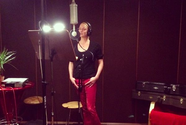 Волочкова записала песню композитора Малахова