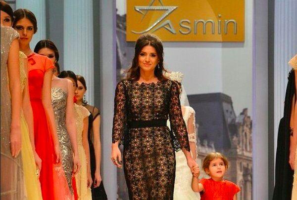 Жасмин дебютировала на Неделе моды в Москве