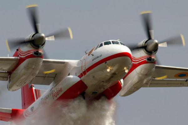 В Калифорнии не вернулся с задания пожарный самолет