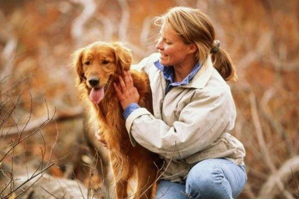 Женщины любят своих собак так же сильно, как детей