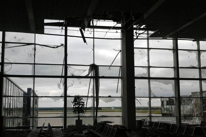 Ополчение отрицает полное взятие донецкого аэропорта