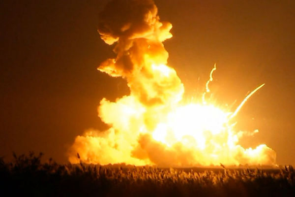 Ракету-носитель Antares взорвали намеренно