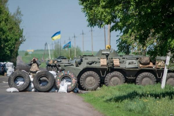 Украинская армия не смогла прорвать