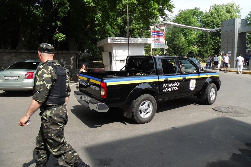 Батальон Коломойского захватил крупнейшую шахту Донбасса