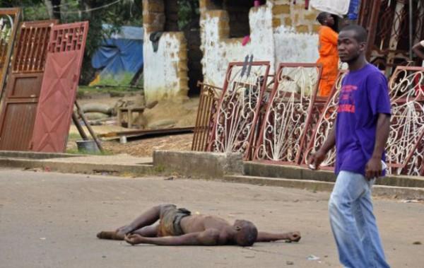 В Сьерра-Леоне тела погибших от Эбола заполонили улицы
