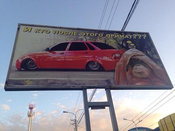 Автовладельцы Ставрополя удивили даже обезьян