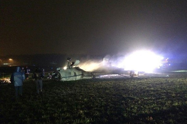 Задержаны подозреваемые в деле о крушении самолета во Внуково