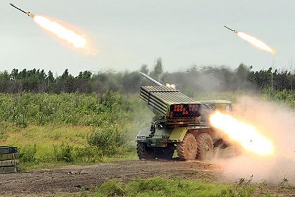 На Луганщине возобновились активные боевые действия