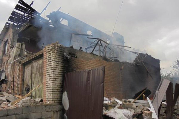 По центру Макеевки ударили снаряды: ранена официантка