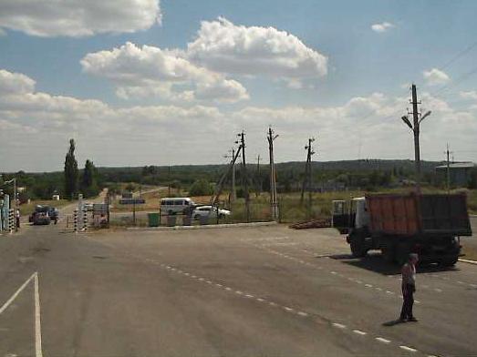 Украина устанавливает контроль над пограничными пунктами