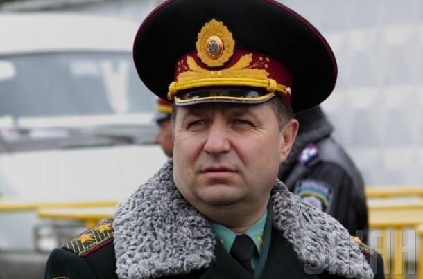 Министром обороны Украины вместо Гелетея стал Степан Полторак