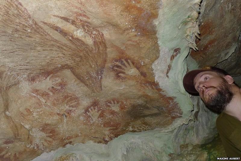 Самые древние наскальные рисунки найдены в индонезийской пещере