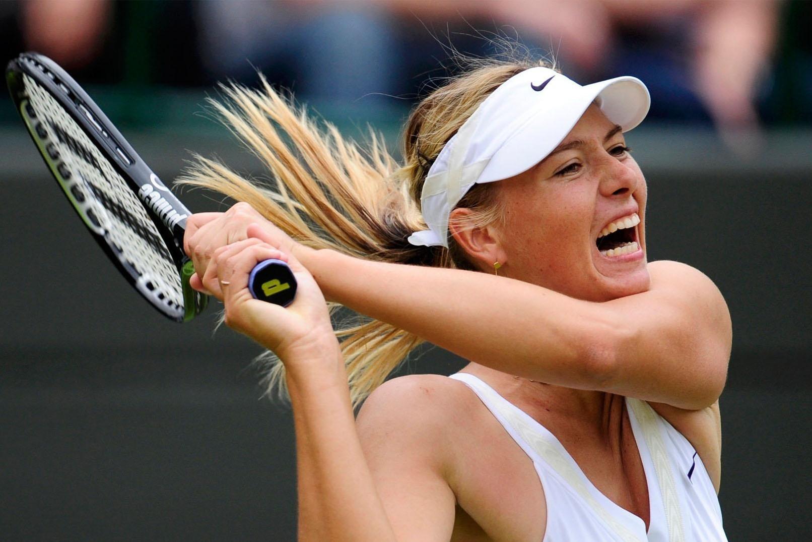 Шарапова выиграла полуфинал теннисного турнира в Пекине