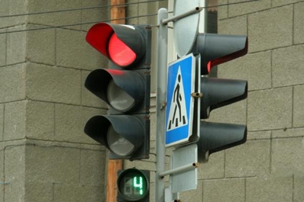В Красноярском крае вор попался при переходе улицы на красный свет