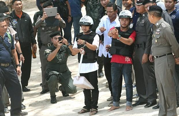 Гастарбайтеры сознались в убийстве влюбленной пары в Таиланде
