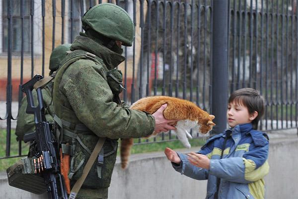 Путин учредил День вежливых людей