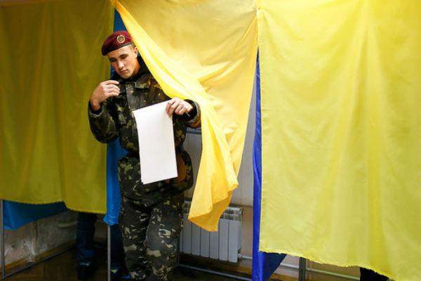 Явка на выборах в украинский парламент превысила 40%