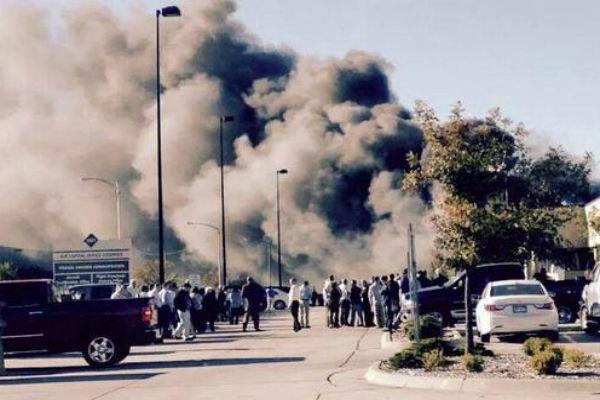 В результате крушения в аэропорту Уичито погибли четыре человека, ранены пятеро
