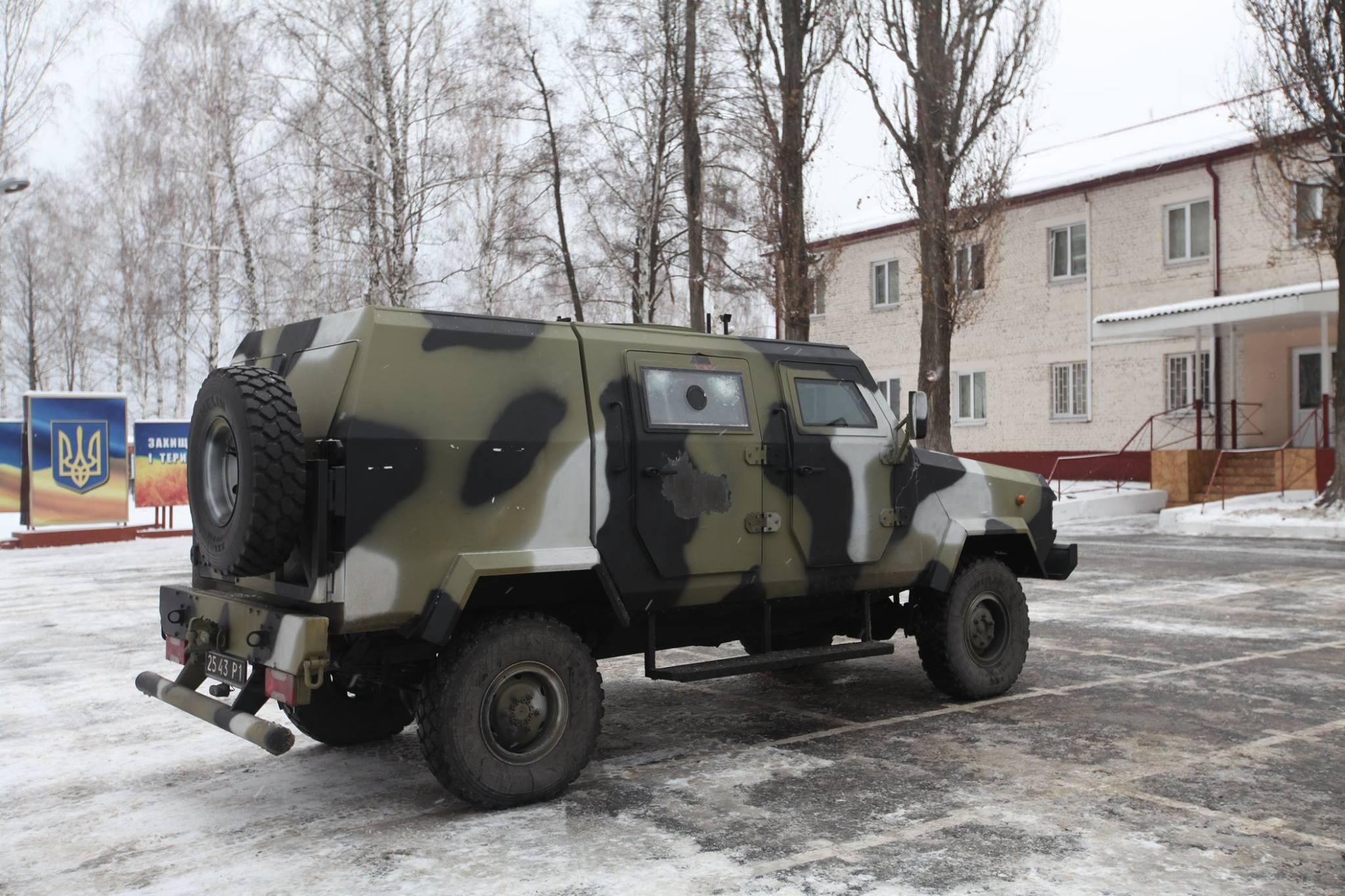 Украина начинает выпуск броневиков