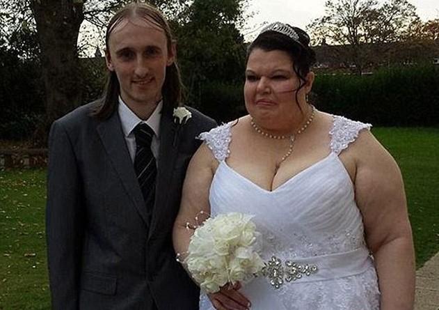 Самая ревнивая женщина Великобритании вышла замуж