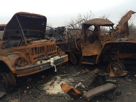 Под Донецком ополченцы уничтожили украинскую бригаду