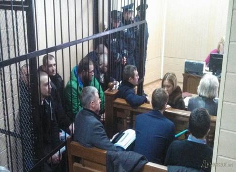 Задержанным после трагедии в Одессе пророссийским активистам продлили арест