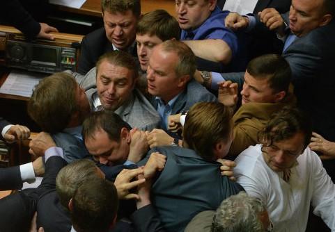 На Украине парафировали коалиционное соглашение
