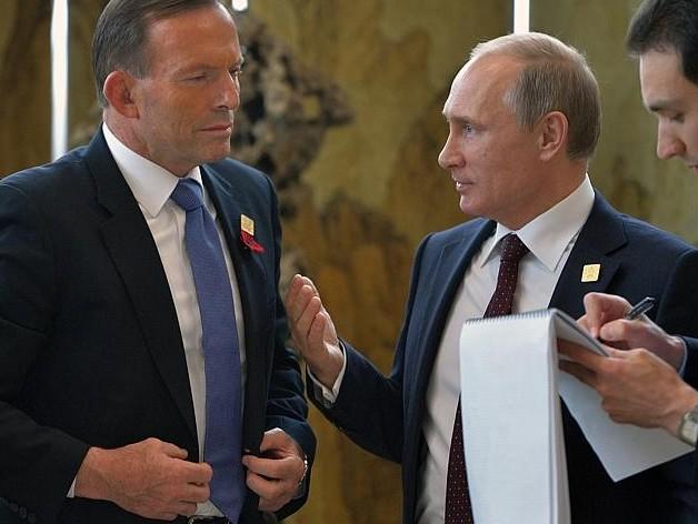 Эббот попросил Путина принести извинения за сбитый