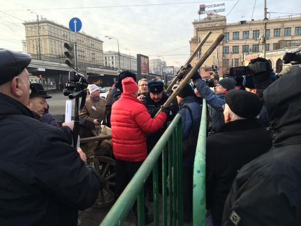 В Москве начался митинг врачей