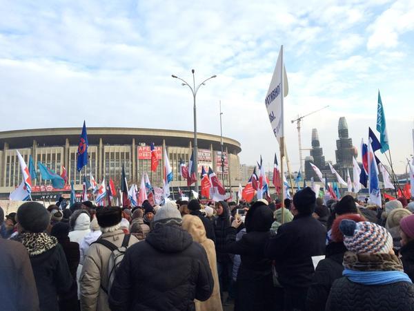 Митинг врачей в Москве собрал тысячи человек